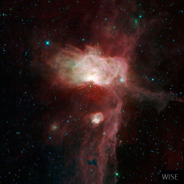 Молекулярное облако в созвездии Ориона
