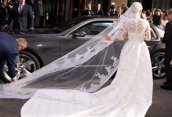 Маленькие эксцессы на свадьбе Ники Хилтон 2
