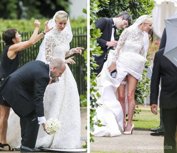 Маленькие эксцессы на свадьбе Ники Хилтон 1