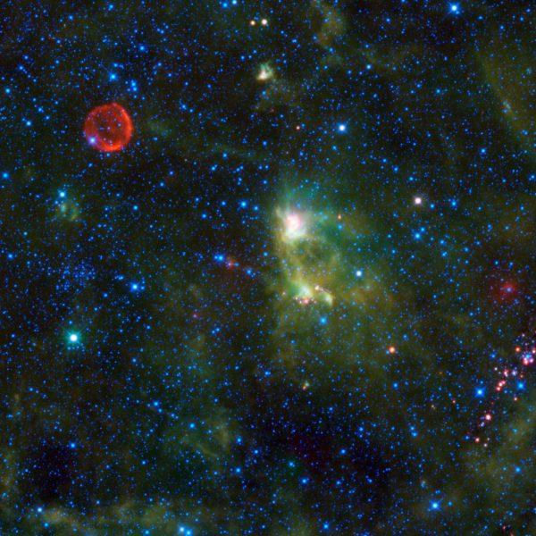 Суперновая звезда Тихо