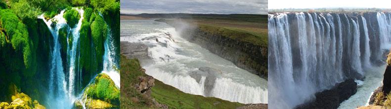 Фотографии самых зрелищных водопадов-рекордсменов