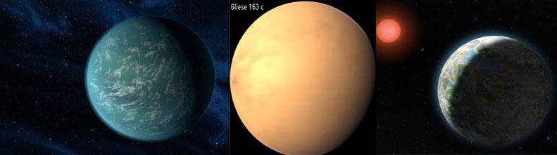 Фотографии экзопланет, которые могут оказаться обитаемыми
