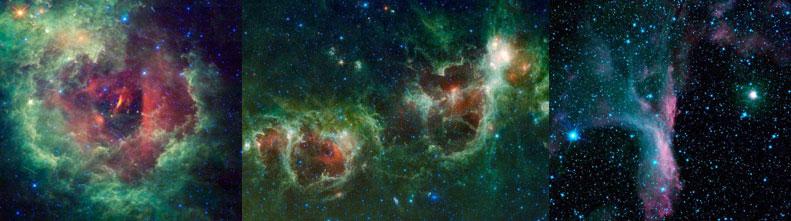Самые ослепительные фотоснимки с телескопа Wise