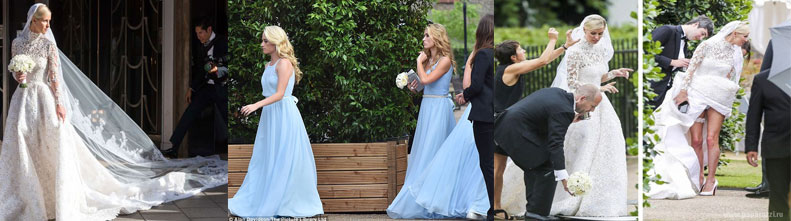 Фотографии со свадьбы Ники Хилтон
