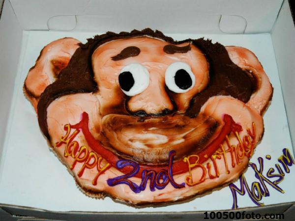 Трудно даже представить, какой торт был у Максима на первый день рождения