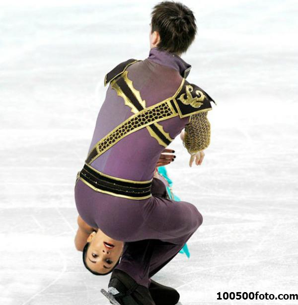 Чего не сделаешь на льду