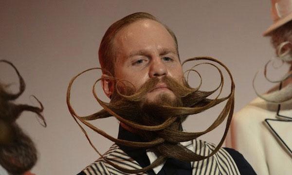 Закрученная борода