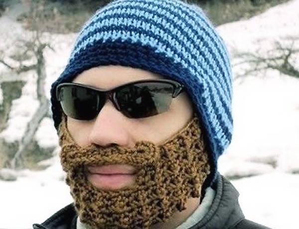 Вязаная борода