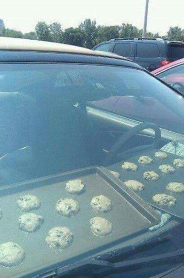 Приготовление печения в машине