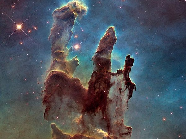 Туманность «Столпы творения»