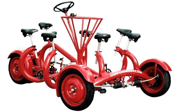 Велосипед на 7 персон