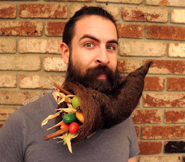 Удобный бородатый кокон
