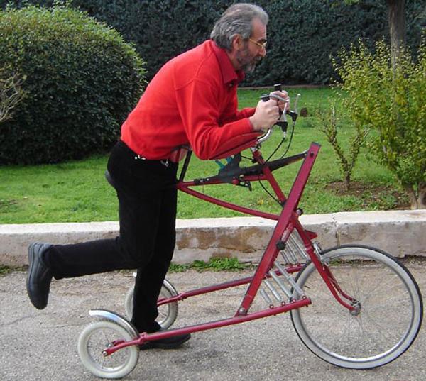 Велосипед-гибрид без педалей