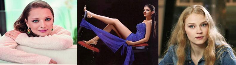 Самые красивые из молодых российских актрис