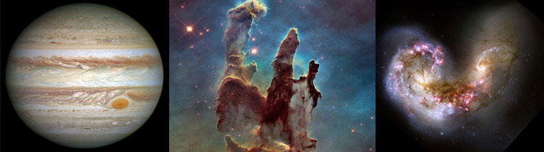 Самые лучшие фотографии с телескопа Hubble