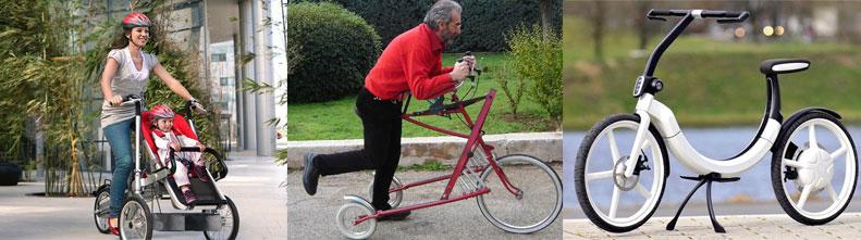 Фотографии самых необычных велосипедов