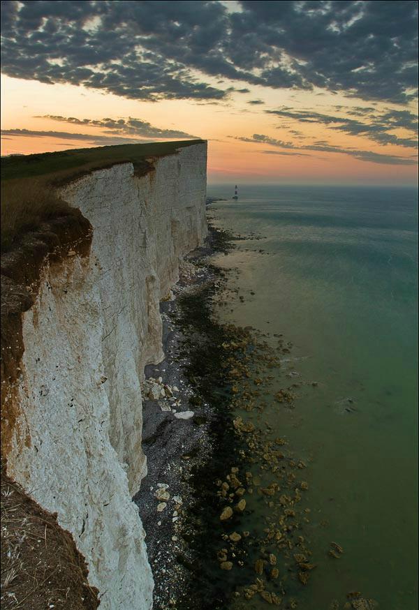 Меловая скала Бичи-Хед (Англия)