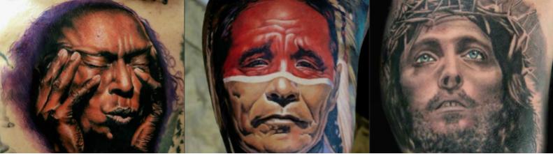 30 самых красивых тату портретов