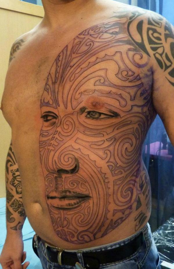 Татуировка в восточном стиле