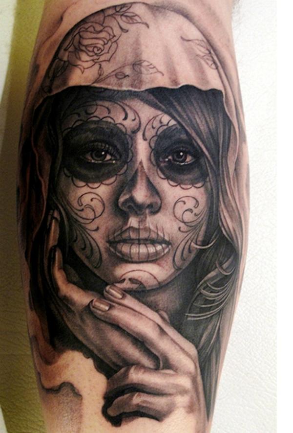 Татуировка в стиле готов