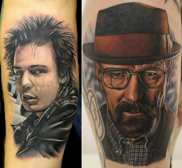 Татуировка с фотографий
