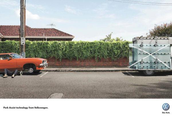 Park Assist технология от Volkswagen