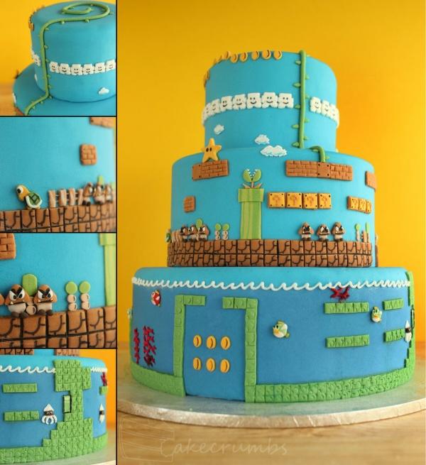 Еще решаете, каким должен быть свадебный торт? Почему бы не изобразить на нем героев любимой компьютерной игры?