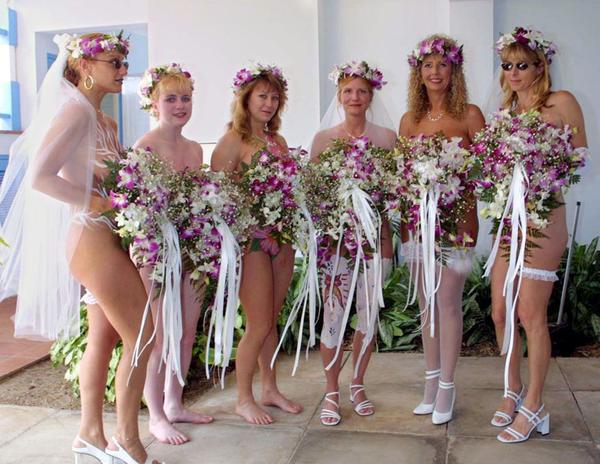 Свадьба голышом