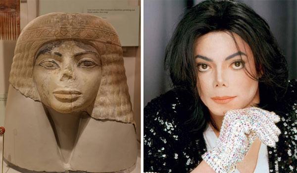 Этот 3000-летний египетский бюст напоминает Майкла Джексона