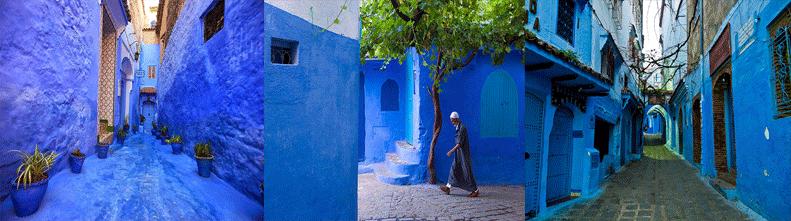50 оттенков синего в Марокко