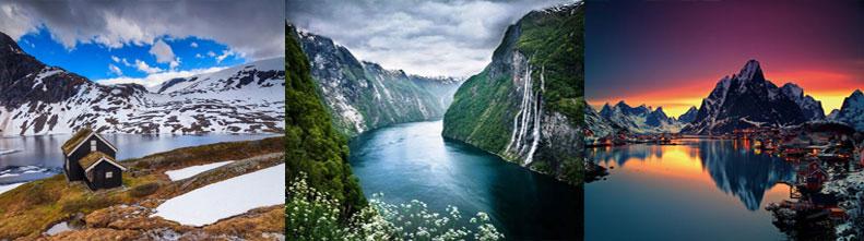 Норвегия — страна полуночного солнца