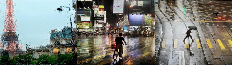 Завораживающие фотографии дождя