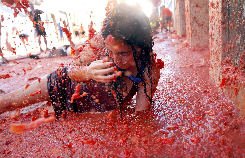 Spain Tomato Fight