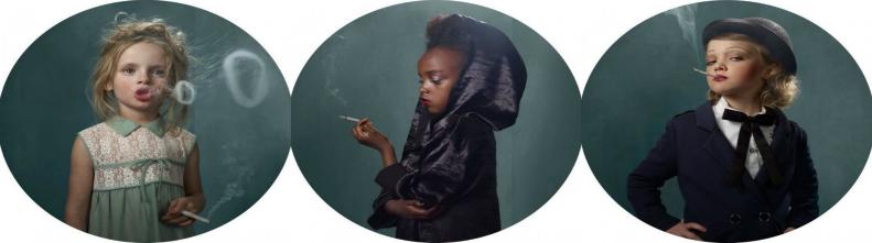 Фотопроект Дети и сигареты