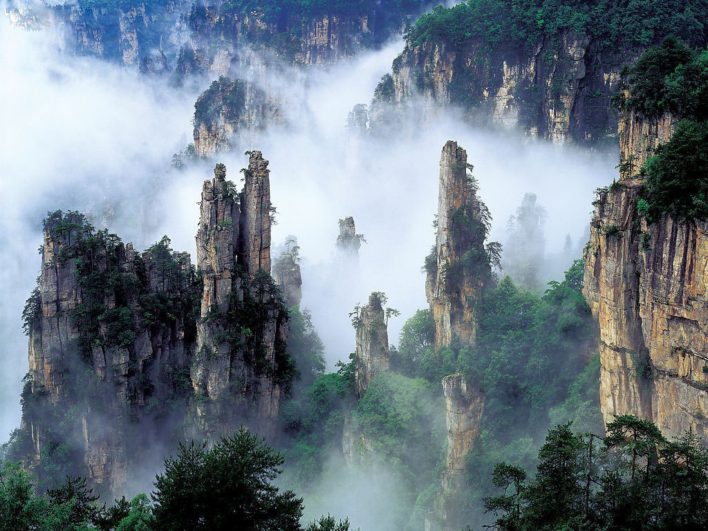 Tianzi-Mountain