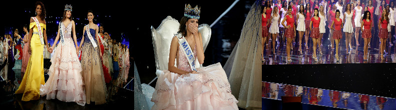 Фотографии с конкурса красоты Мисс мира-2016