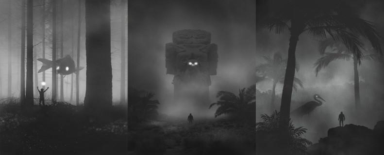 Художник Давид Планета и его мистическая вселенная в фотографиях