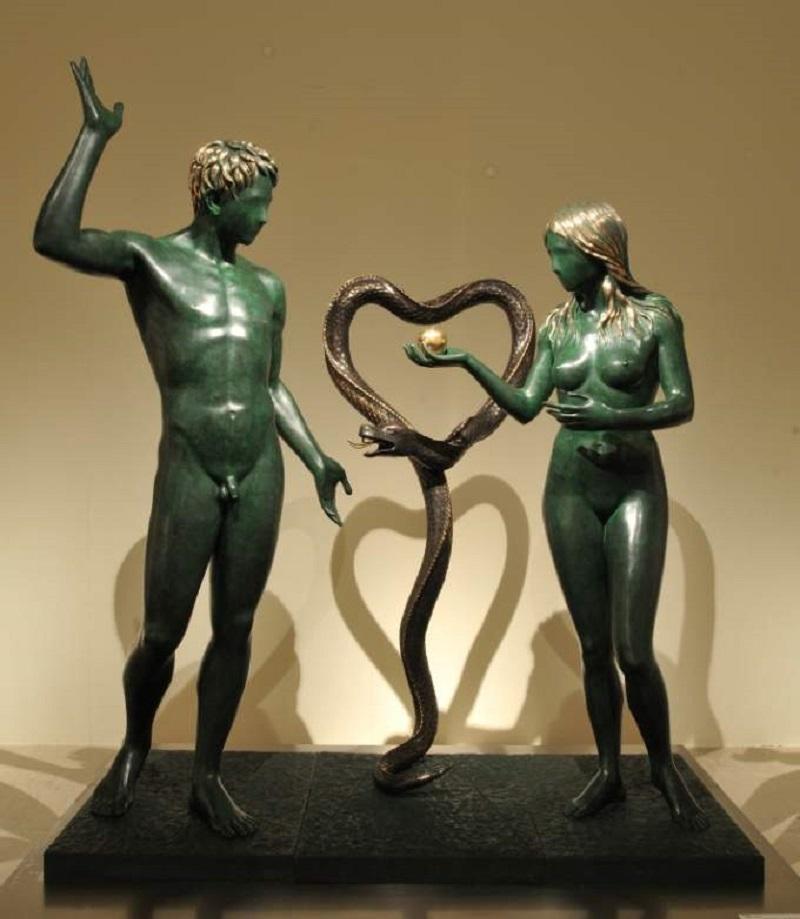 Оригинальные Адам и Ева Дали