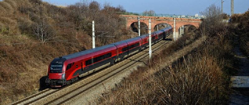 В Австрии также красиво в поезде