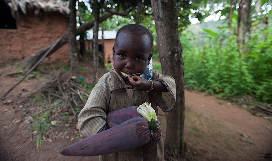 Игрушки детей Бурунди