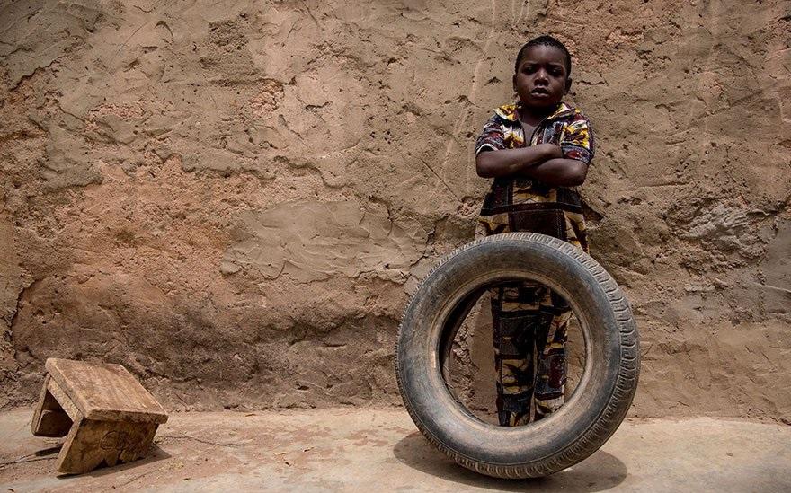 Бедные дети Руанды