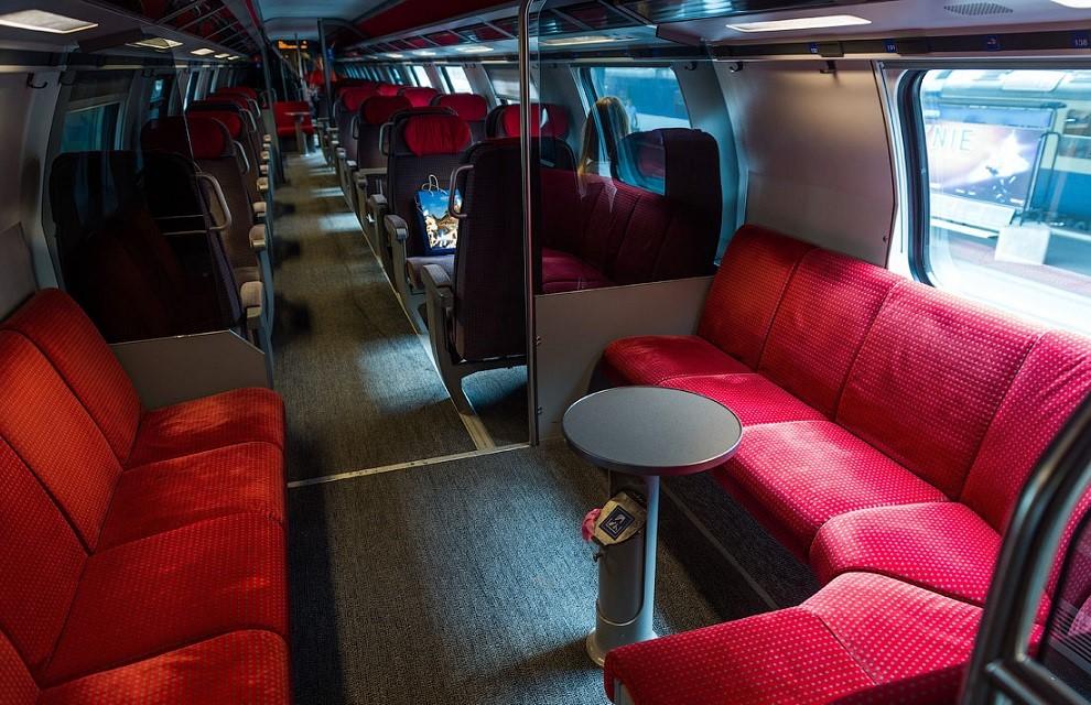 Швейцарские ж/д операторы предлагают комфортные условия