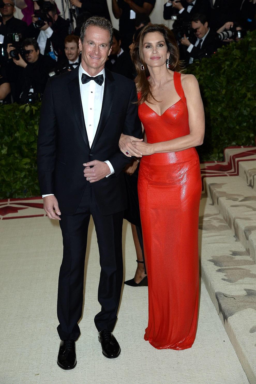 Синди Кроуфорд с мужем