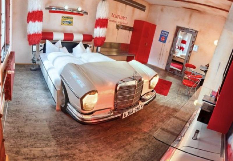 Спальня-автомобиль