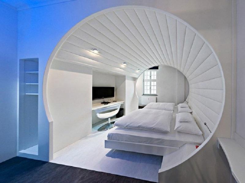 Спальня-капсула