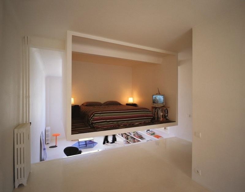 Навесная спальня
