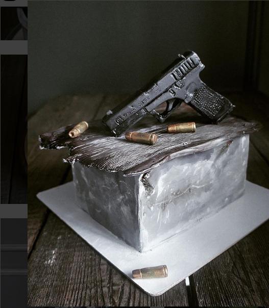 Торт-пистолет