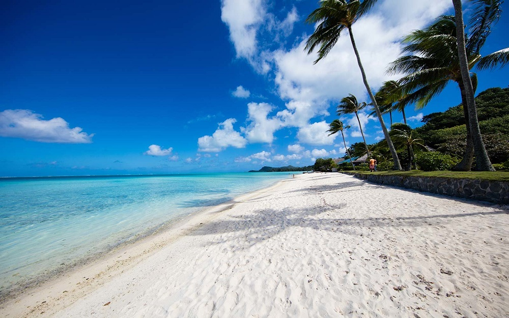 Вайт Сэнд Бич (Пляж с белым песком)