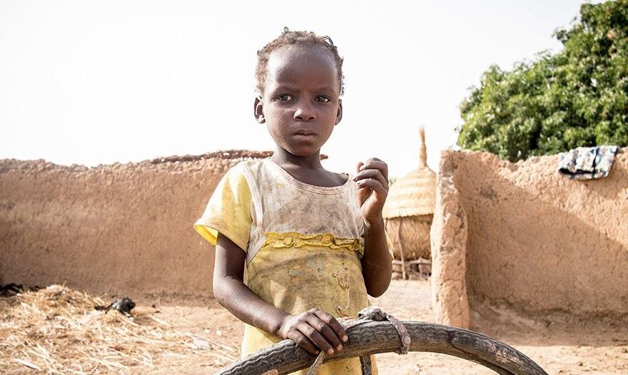 Девочка из Зимбабве