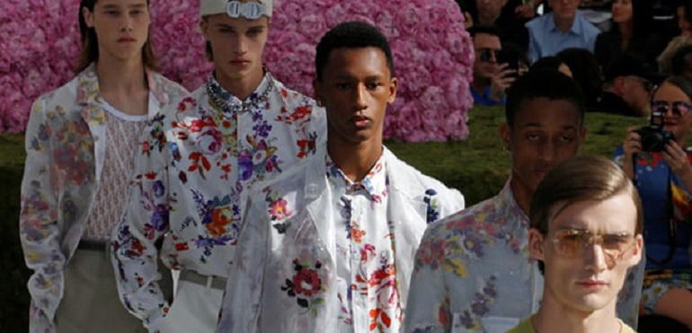 Новая коллекция мужской одежды от Christian Dior Homme сезона весна — лето 2019